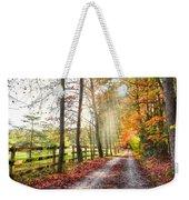 Take The Back Roads Weekender Tote Bag
