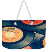Take Those Old Records Off The Shelf Weekender Tote Bag