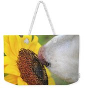 Take Time To Smell The Sunflowers Weekender Tote Bag
