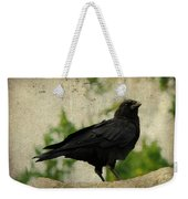 Blackbird Is Taking It All In Weekender Tote Bag