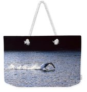 Taking Off Swan Weekender Tote Bag