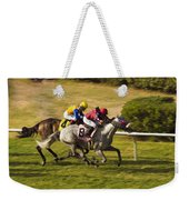 Taking Over - Del Mar Horse Race Weekender Tote Bag