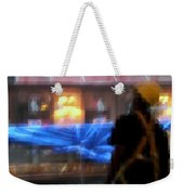 Taking Shelter From The Rain Weekender Tote Bag