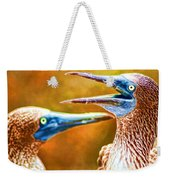 Talking Birds Weekender Tote Bag