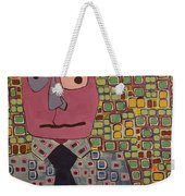 Talking Head Weekender Tote Bag