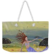 Talking To The Fishes Weekender Tote Bag