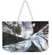Tall Birches Weekender Tote Bag