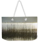 Tall Grass On Lough Eske - Donegal Ireland Weekender Tote Bag