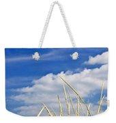 Tall Grass On Sand Dunes Weekender Tote Bag by Elena Elisseeva