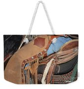 Tall In The Saddle II Weekender Tote Bag