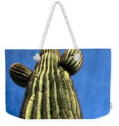Tall Saguaro Cactus Weekender Tote Bag