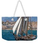 Tall Ship Alicante Weekender Tote Bag