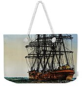 Tall Ship Beauty Weekender Tote Bag