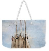 Tall Ship Denis Sullivan Weekender Tote Bag