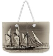 Tall Ship II Weekender Tote Bag