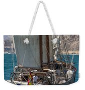 Tall Ship Isla Ebusitania  Weekender Tote Bag