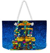 Tall Ship Jose Gasparilla Weekender Tote Bag