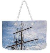 Tall Ship Masts Weekender Tote Bag