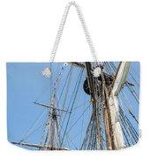 Tall Ship Rigging Weekender Tote Bag