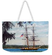 The Tall Ship Niagara Weekender Tote Bag