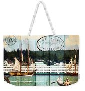Tall Ships On The Sound Weekender Tote Bag