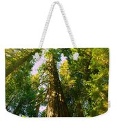 Tall Tall Trees Weekender Tote Bag