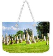 Tall Tombstones Panorama Weekender Tote Bag by Thomas Woolworth