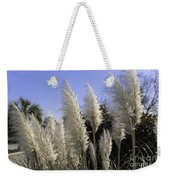 Tall Wispy Pampas Grass Weekender Tote Bag