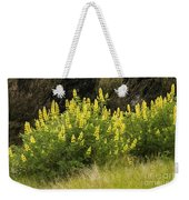Tall Yellow Lupin Weekender Tote Bag