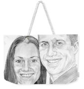 Tamir And Sarah Weekender Tote Bag