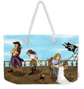 Tammy And The Pirates Weekender Tote Bag
