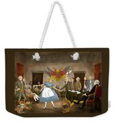 Tammy In Independence Hall Weekender Tote Bag by Reynold Jay