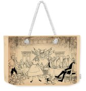Tammy In Indpendence Hall Weekender Tote Bag by Reynold Jay