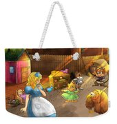 Tammy And Friends In The Backyard Weekender Tote Bag