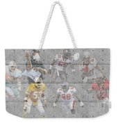 Tampa Bay Buccaneers Legends Weekender Tote Bag
