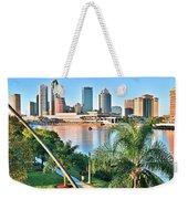 Tampa Bay Florida Weekender Tote Bag