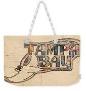 Tampa Bay Rays Poster Art Weekender Tote Bag