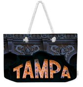 Tampa Theatre Sign 1926 Weekender Tote Bag