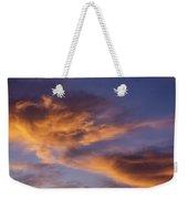 Tangerine Swirl Weekender Tote Bag by Caitlyn  Grasso