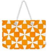 Tangerine Twirl Weekender Tote Bag