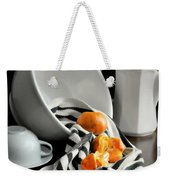 Tangerines Weekender Tote Bag by Diana Angstadt