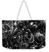 Tangled Baubles - Bw Weekender Tote Bag