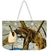 Tangled Driftwood Weekender Tote Bag