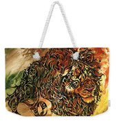 Tangled Lion Weekender Tote Bag