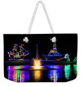 Tanglewood Festival Of Lights Weekender Tote Bag