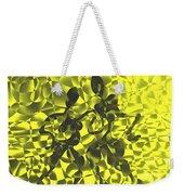 Tango In Yellow Weekender Tote Bag