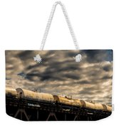 Tank Cars Weekender Tote Bag by Bob Orsillo