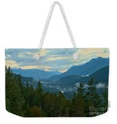 Tantalus Mountain Afternoon Landscape Weekender Tote Bag