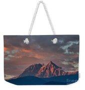 Tantalus Mountain Sunset - British Columbia Weekender Tote Bag