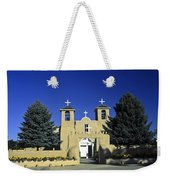Taos Adobe Church Weekender Tote Bag